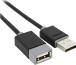 USB кабель Prolink PB467-0100 1.0m (USB 2.0, (AM-AF), 1м) картинка 1
