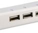 Концетратор Prolink MP300 (USB 2.0, 3-порта, +RJ45(встроенная сетевая карта), 0,15м) картинка 1