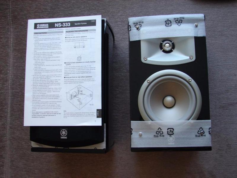 yamaha ns 333 black elliptical form. Black Bedroom Furniture Sets. Home Design Ideas