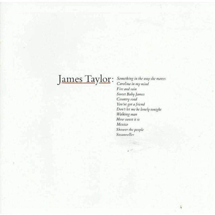 Виниловые пластинки James Taylor GREATEST HITS джеймс тейлор james taylor before this world lp