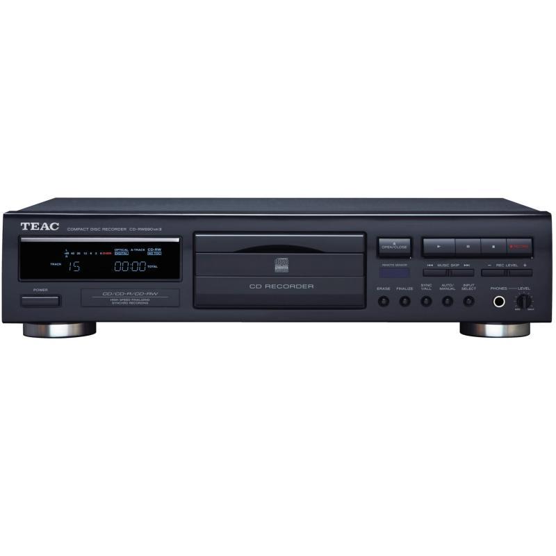 CD проигрыватели Teac CD-RW890 MkII black teac pd 501hr black