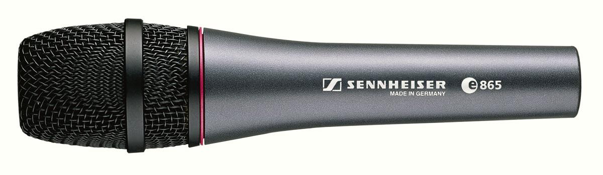 Микрофоны Sennheiser E865 вокальный микрофон sennheiser e 865 s