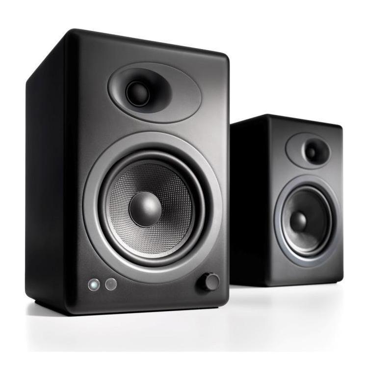 Полочная акустика Audioengine A5+ Satin Black