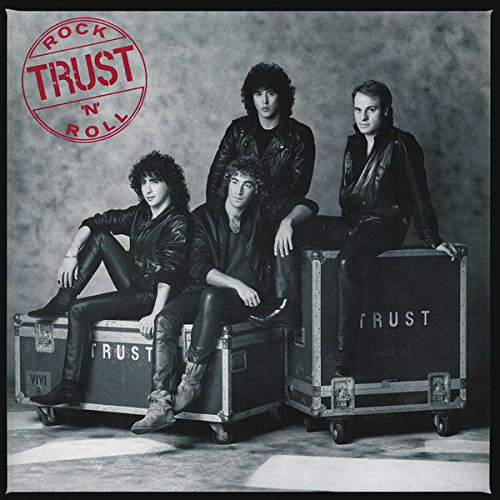 Виниловые пластинки Trust ROCK'N'ROLL (Red translucent with black marble)