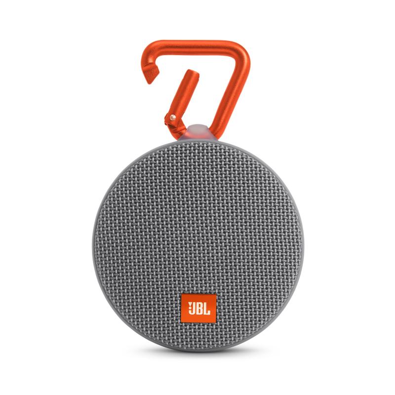 Портативная акустика JBL Clip 2 grey (JBLCLIP2GRAY)