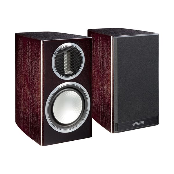 Акустические системы Monitor AudioПолочная акустика<br>Полочные акустические системы Monitor Audio Gold 50 предназначеные для достаточно требовательных любителей хорошего звука, которые ценят в звучании точность, хорошую динамику, высокую детальность и естественность звучания музыкальных инструментов при относительно невысокой стоимости акустики по меркам современного Hi-End.Конструкция компактной модели Gold 50 включает 5.5-дюймовый низкочастотный динамик RST® и ленточный твитер C-CAM®, установленные в низкодифракционном корпусе. Широтой диапазона низких...<br>