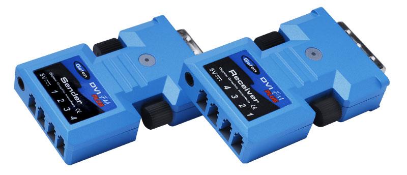 Мультирум контроллеры и усилители Gefen EXT-DVI-FMP