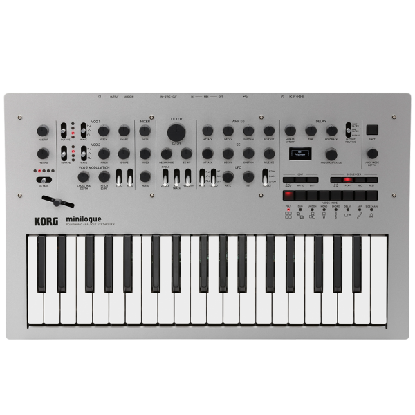 Синтезаторы и Пианино KORG Minilogue korg volca keys