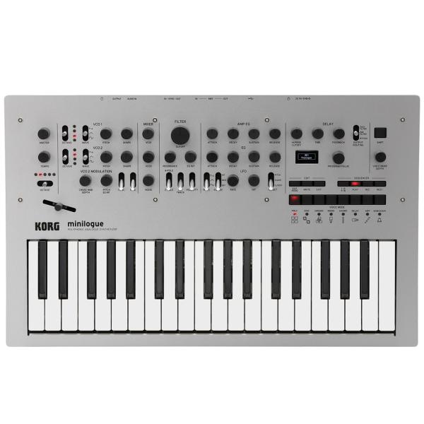 Синтезаторы и Пианино KORG Minilogue korg volca keys