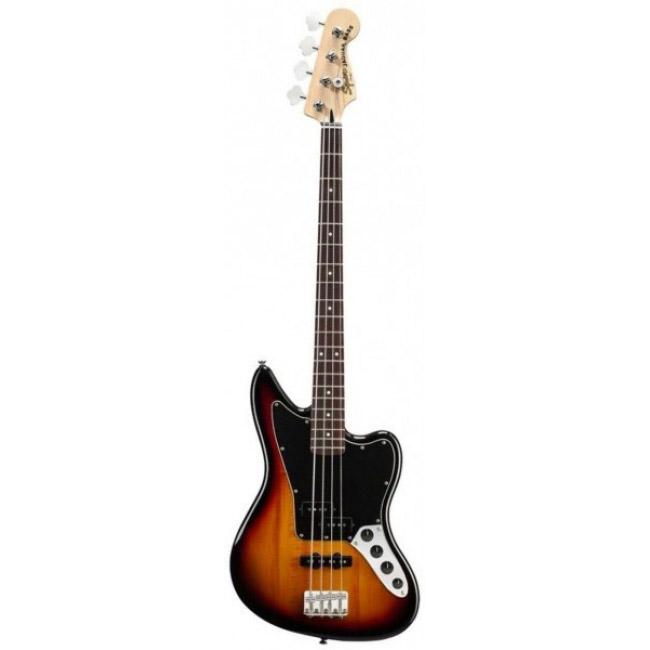 Бас-гитары FENDER Squier Vintage Modified Jaguar Bass RW 3-color Sunburst fender squier vintage modified jaguar rw surf green