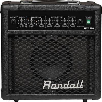 Комбо усилители Randall RX15M(BC,E)
