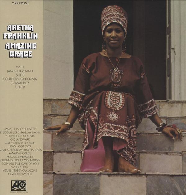 Виниловые пластинки Aretha Franklin AMAZING GRACE (W519)