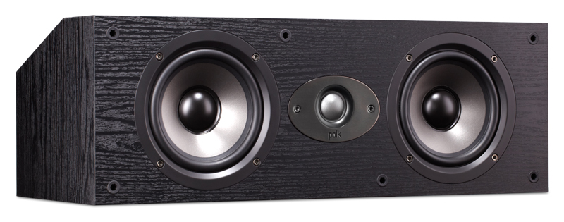 Акустика центрального канала Polk Audio TSx 150C black акустика центрального канала polk audio tl3 center black