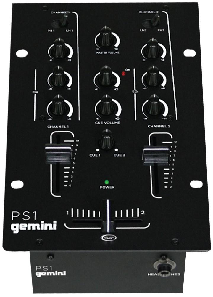 DJ-микшеры Gemini PS1 DJ