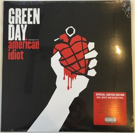 Виниловые пластинки Green Day AMERICAN IDIOT (Limited edition/Coloured vinyl/Gatefold)