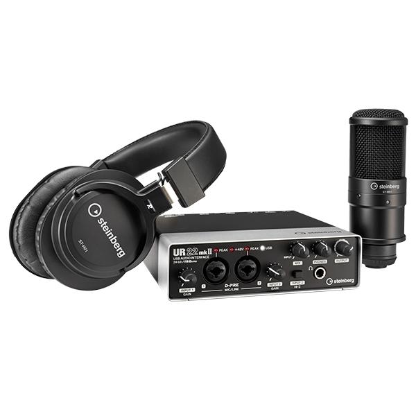 Студийные звуковые карты Steinberg UR22 mkII Recording Pack стоимость