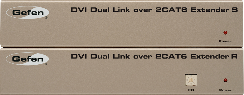 Мультирум контроллеры и усилители Gefen EXT-DVI-2CAT6DL