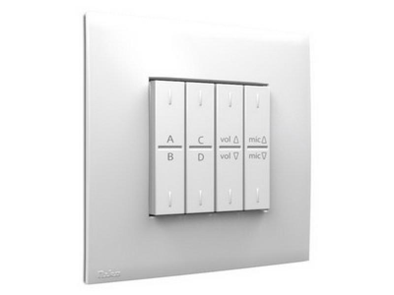 Панели управления мультирум APart PM1122W • Беспроводная панель управления белого цвета для предусилителя PM1122