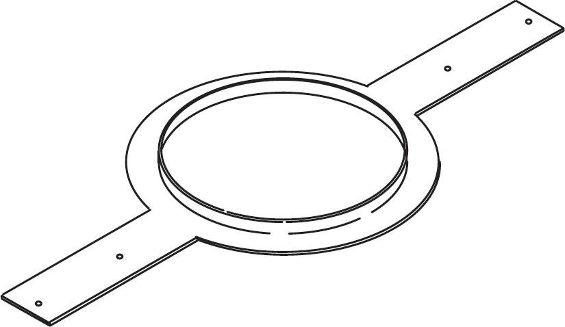 JBL JBL MTC-47MR монтажный элемент для C47C/T и C47LP (упаковка 6шт)