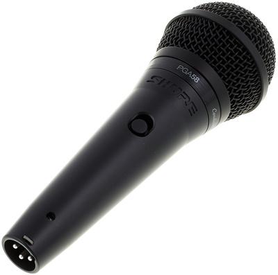 Микрофоны Shure PGA58-QTR-E shure pga58 xlr e вокальный микрофон black