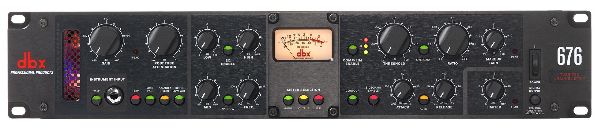 Микрофонные предусилители DBX
