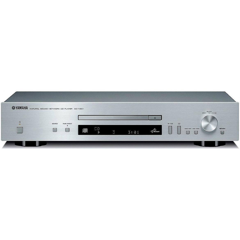 CD проигрыватели Yamaha CD-N301 silver cd проигрыватели teac pd 301 silver