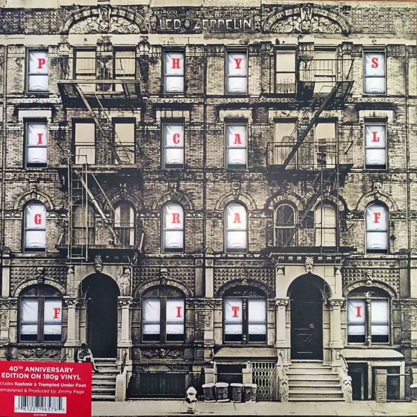 Виниловые пластинки Led Zeppelin PHYSICAL GRAFFITI (Remastered/180 Gram) виниловая пластинка led zeppelin led zeppelin iii remastered 180 gram