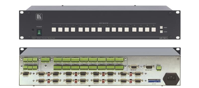 Оборудование для аудио/видео коммутации Kramer VP-161xl