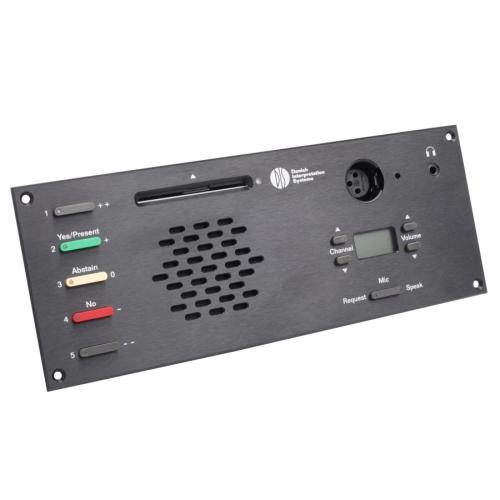 Микрофонный врезной пульт делегата DM 6680 F (для серии DCS6000) PULT.ru 38500.000