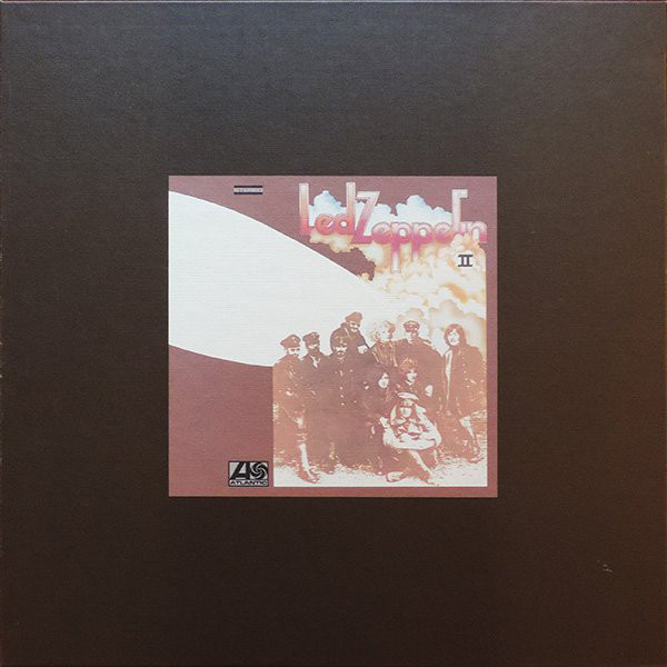 Виниловые пластинки Led Zeppelin LED ZEPPELIN II (Super Deluxe Edition Box set/Remastered/2CD+2LP/180 Gram/Hardbound 88-page book) виниловая пластинка led zeppelin led zeppelin iv deluxe edition remastered 180 gram