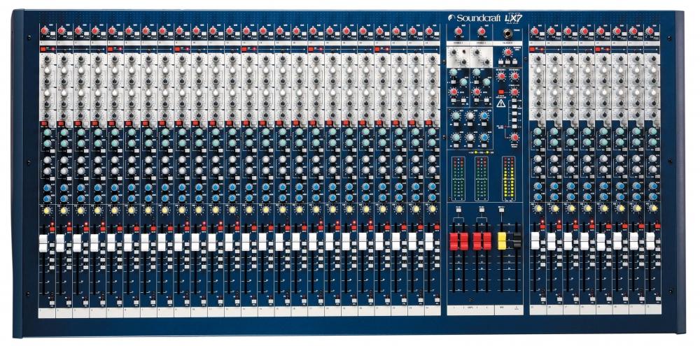 Микшерные пульты Soundcraft SPIRIT LX7ii 32CH