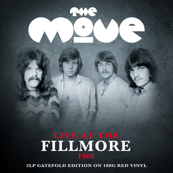 Виниловые пластинки The Move LIVE AT THE FILLMORE (180 Gram/Red vinyl/W463)