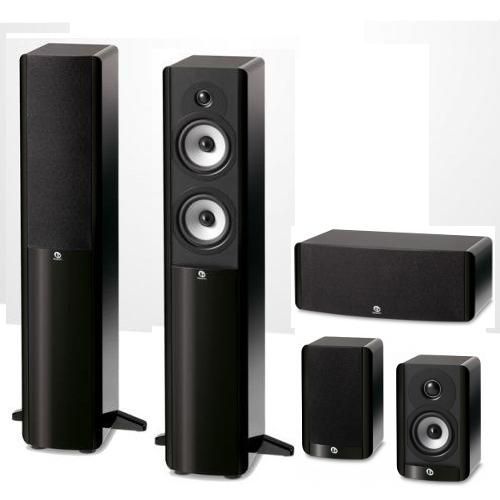 Комплекты акустики PULT.ru Boston Acoustics A250+A23+A225C black акустика центрального канала vienna acoustics theatro piano black