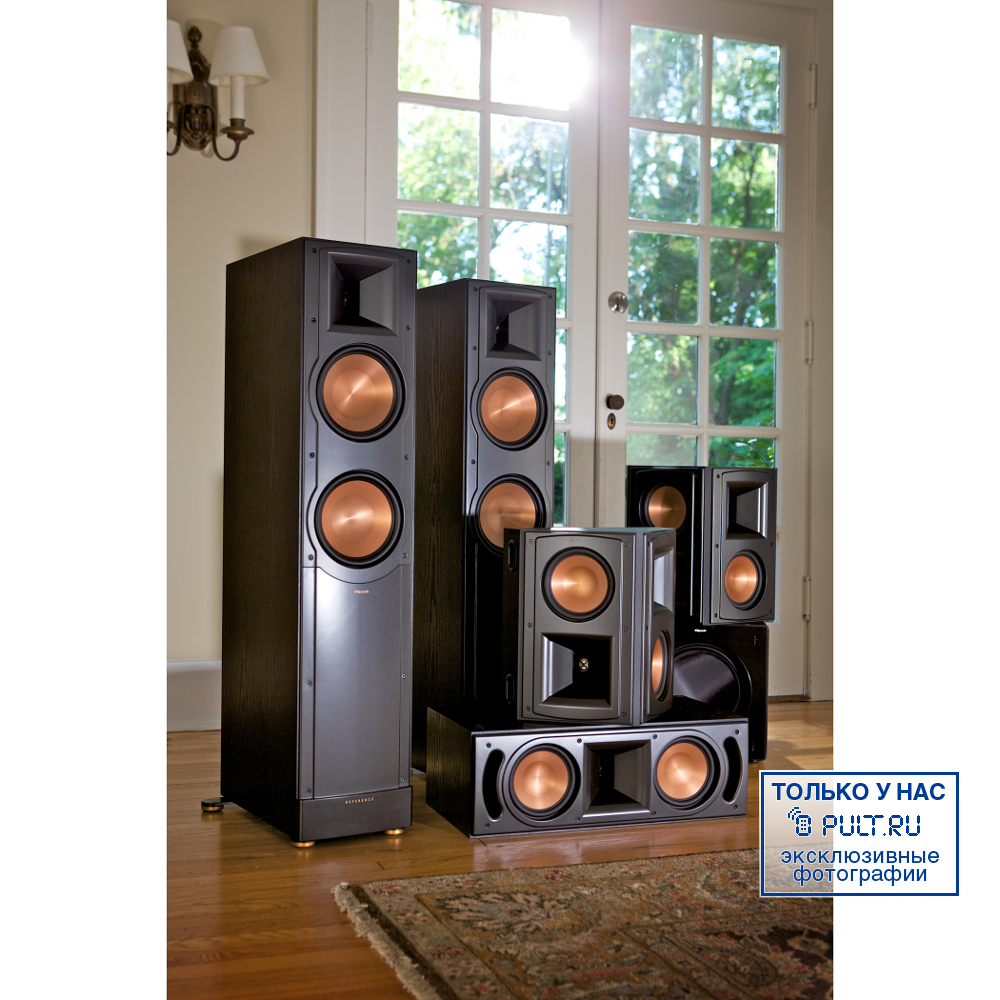klipsch rc 62 ii black 33000. Black Bedroom Furniture Sets. Home Design Ideas