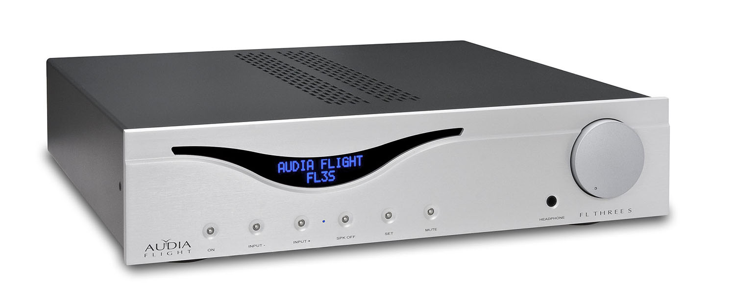 Интегральные стереоусилители Audia Flight Three S USB DAC silver audia flight three s usb dac silver