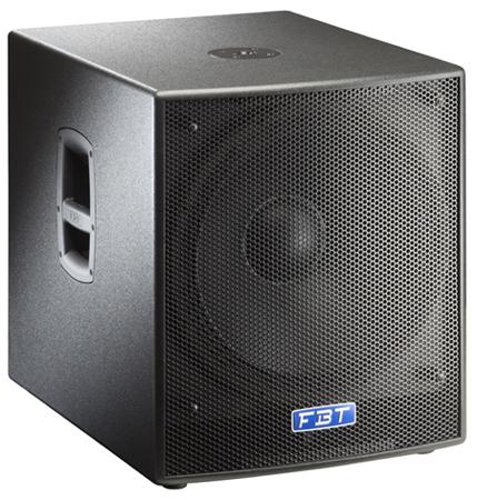 Концертные сабвуферы FBT SUBLINE18SA микрофоны akg drumset premium