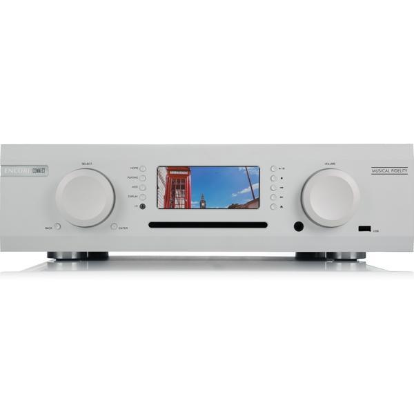 Интегральные стереоусилители Musical Fidelity M6 Encore 225 Streaming Music System silver musical fidelity m6si silver