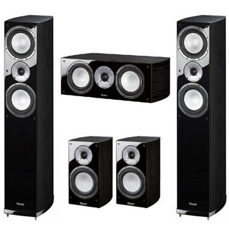 Комплекты акустики Magnat Quantum 675 + 673 + 67c black комплекты акустики magnat tempus 55 33 center 22 black