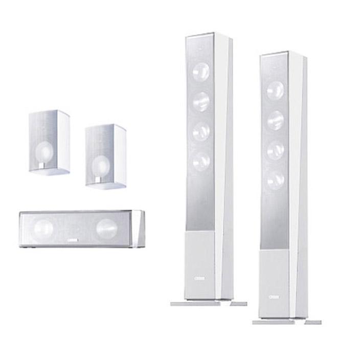 Комплекты акустики Canton CD 390 Set 5.0 white (390+310+350) canton dm75 white