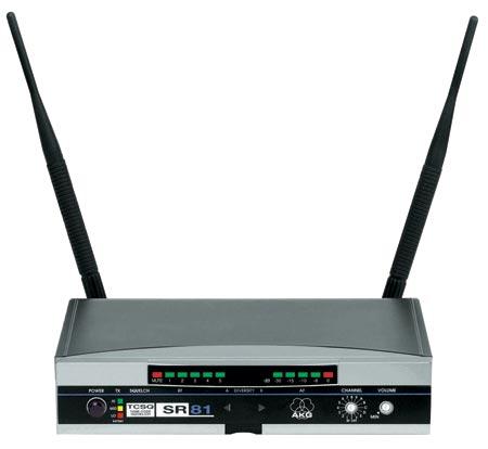 Приёмник и передатчик для радиосистемы AKG, арт: 127802 - Приёмник и передатчик для радиосистемы