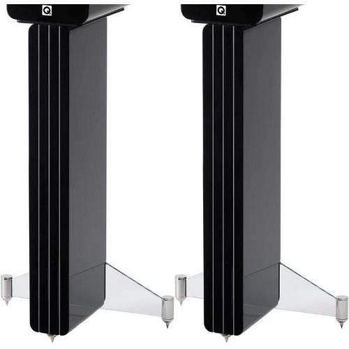 Стойки под акустику Q-Acoustics Concept 20 Stand black стойка для акустики waterfall подставка под акустику shelf stands hurricane black