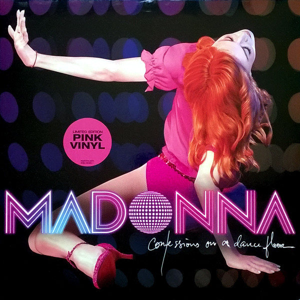 Виниловые пластинки Madonna CONFESSIONS ON A DANCE FLOOR (Pink vinyl) madonna the confessions tour