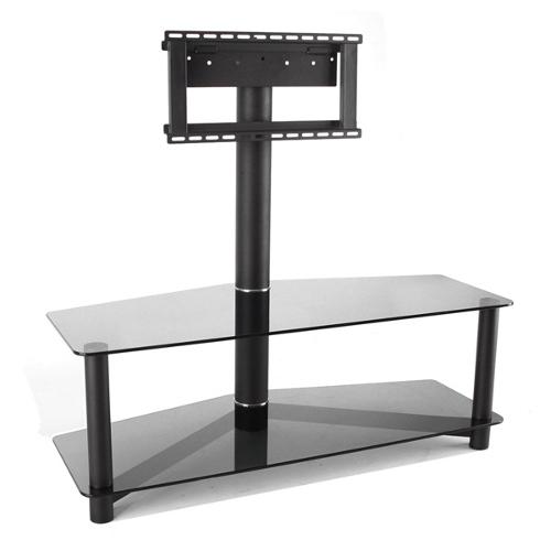 Подставки под телевизоры и Hi-Fi MD 525-1 черный/дымчатое стекло стойка metaldesign md 552 planima черный дымчатое стекло