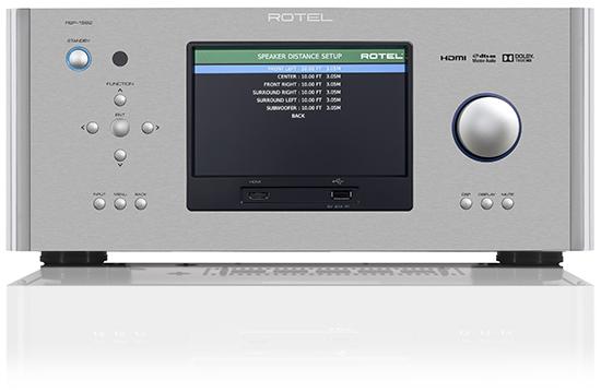 AV процессоры (Предусилитель многоканальный) Rotel от Pult.RU