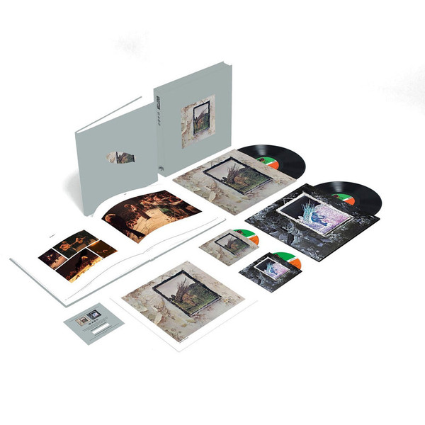 Виниловые пластинки Led Zeppelin LED ZEPPELIN IV (Super Deluxe Edition Box set/Remastered/2CD+2LP/180 Gram/Hardbound 80-page book) виниловая пластинка led zeppelin in through the out door deluxe edition remastered 180 gram