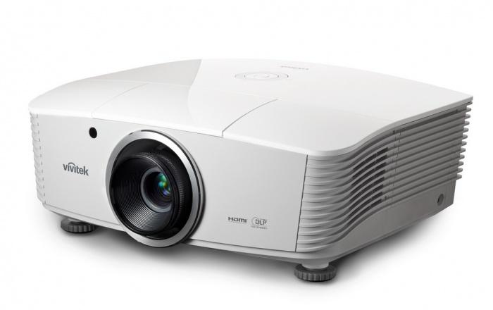 Проекторы VivitekПроекторы<br>Яркий инсталляционный XGA-проекторПроектор D5010 предлагает широкий набор функций и возможностей, которые делают его идеальным выбором среди многообразия моделей на рынке профессиональных инсталляционных моделей. В дополнение к высокой яркости 6000 ANSI lm, разрешение XGA обеспечивает отличное качество изображения при воспроизведении видеоконтента, мультимедийных презентаций, графической информации. Для удобства и гибкости инсталляции в модели D5010 предусмотрены горизонтальный и вертикальный сдвиг линз, 3 сменных центрально расположенных объектива и широкий набор интерфейсов для подключения источников сигнала.Характеристики:Разрешение XGA (1024 x 768)Яркость 6000 ANSI Lm и контрастность 2000:1Технологии DLP® и BrilliantColor™ для высокого качества изображенияЦентральное расположение объективаТри сменных объектива с широким диапазоном проекционных отношенийГоризонтальный и вертикальный сдвиг линз (в том числе для короткофокусного фиксированного объектива)Интерфейсы : HDMI v1.4, DisplayPort, VGA-Out, RJ45 и RS-232Разъем DisplayPort для цифровых аудио и видеосигналовВстроенный 12V триггер для подключения внешнего проводного модуляВстроенная аудиосистема 2x3Вт<br><br>Страна (главный офис): США<br>Тип: DLP проектор<br>Серия: D<br>Потребляемая мощность, Вт: 450<br>Вес, кг: 8.6<br>Минимальный уровень шума, дБ: 37<br>Количество входов USB: 1<br>Ширина, мм: 431<br>Тип проектора: DLP<br>Реальное физическое разрешение.: 1024 x 768<br>Производитель: Vivitek<br>Конвертация 2D в 3D: есть<br>Встроенные динамики: есть<br>Поддержка 3D: есть<br>Мгновенное отключение: есть<br>Быстрое включение: есть<br>Wi-Fi: нет<br>Максимальное фокусное расстояние, мм: 28.49<br>Минимальное фокусное расстояние, мм: 22.82<br>Flac: нет<br>Минимальный размер изображения, м: 0.94<br>Мощность лампы, Вт: 370<br>Инверсия: есть<br>Тип лампы: UHP<br>Коэффициент масштабирования: 1.25x<br>Управление в составе умного дома: RS232<br>Максимальный размер изображения, м: 5.46<br>Встроен