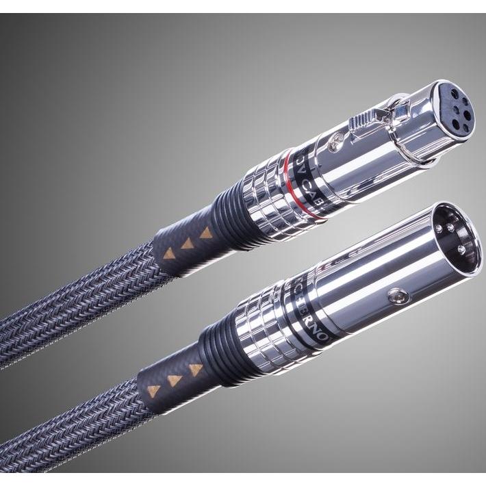 Кабели межблочные аудио Tchernov Cable Ultimate IC XLR 4.35m кабели межблочные аудио tchernov cable classic mk ii ic rca 1 65m