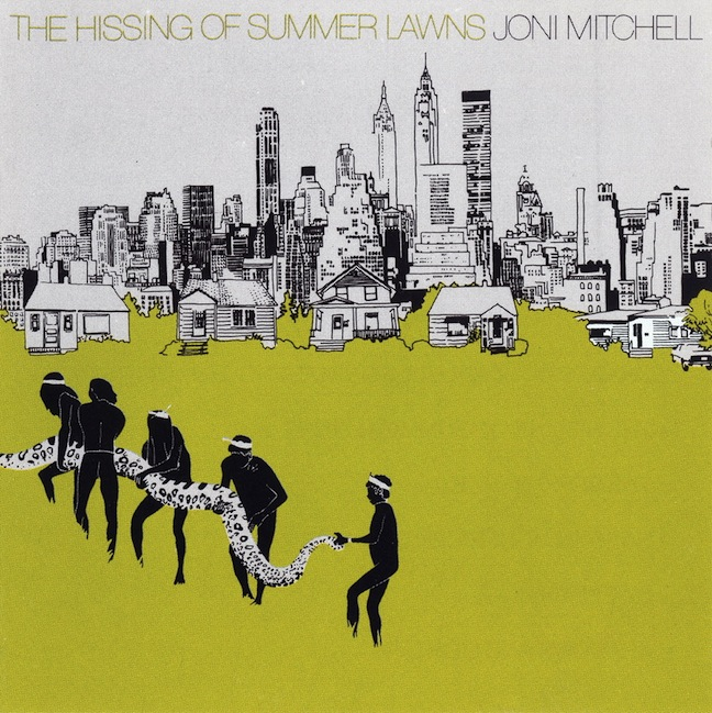 Виниловые пластинки Joni Mitchell THE HISSING OF SUMMER LAWNS виниловая пластинка mitchell joni the hissing of summer lawns