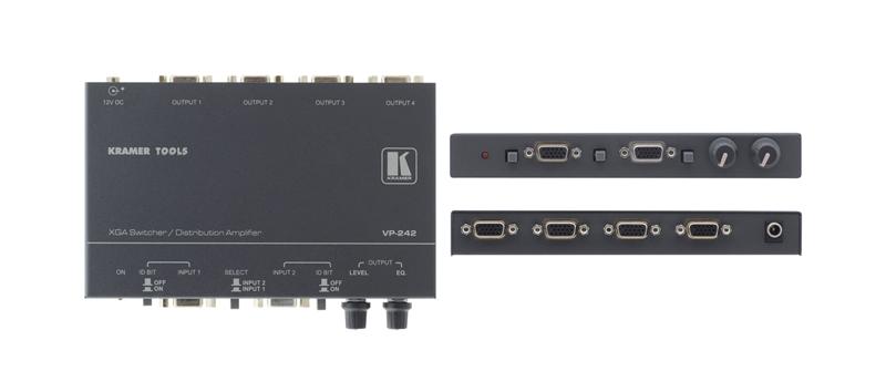 Оборудование для аудио/видео коммутации Kramer VP-242