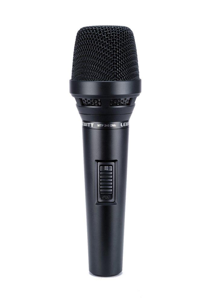 Микрофоны LEWITT MTP240 DM S  вокальный микрофон lewitt mtp 550 dms